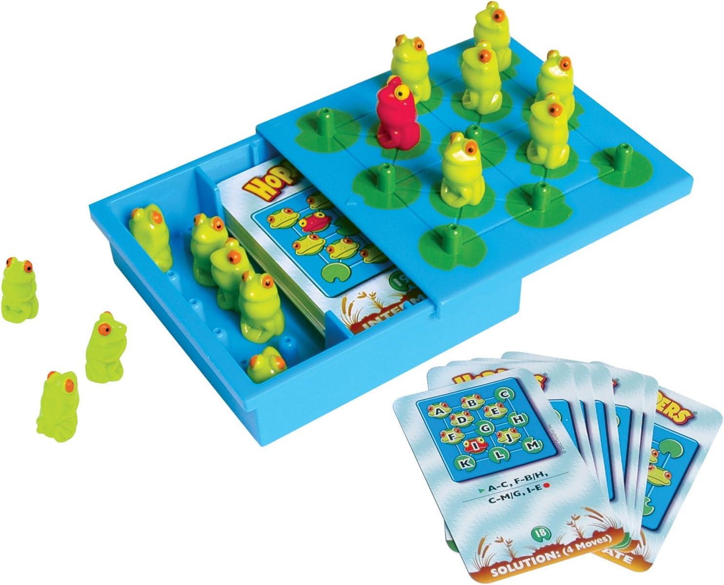 ThinkFun - Hoppers, juego de mesa en inglés(TF6701): Amazon.es: Juguetes y juegos