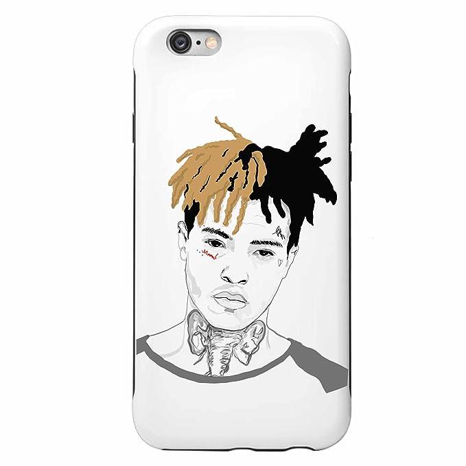 hot sale online b2ebc 58a18 XXXTentacion Apple IPhone 5 5s 6 6s Plus phone Case (iphone 6/6s)