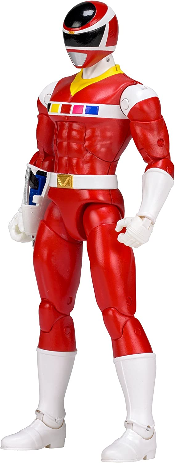 Power Rangers In Space 6.5-Inch Red Ranger Legacy Figure Bandai America Incorporated 43164
