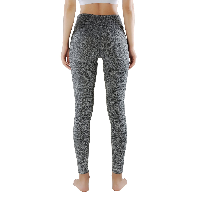 GoVia leggins para damas pantalones deportivos largos para Training Running  Yoga Fitness transpirables con cintura alta. Ampliar imagen 1f48ab2257e8