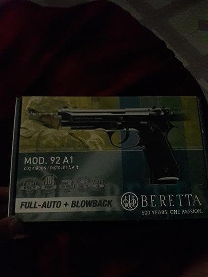 Umarex Beretta M92 A1 .177 Steel BB Airgun, Blowback Best I've seen so far..I own many different brands