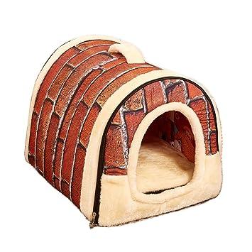 Amazon.com: Guardians Cozy perro Dormir Casa Hogar Cálido ...