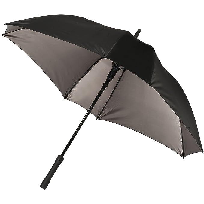 Marksman - Paraguas automático de dos capas y diseño cuadrado 58cm (83 x 101 cm