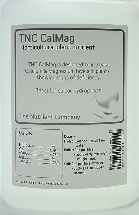 TNC CalMag – tratamiento de calcio y magnesio deficiencia de nutrientes en plantas – EG.