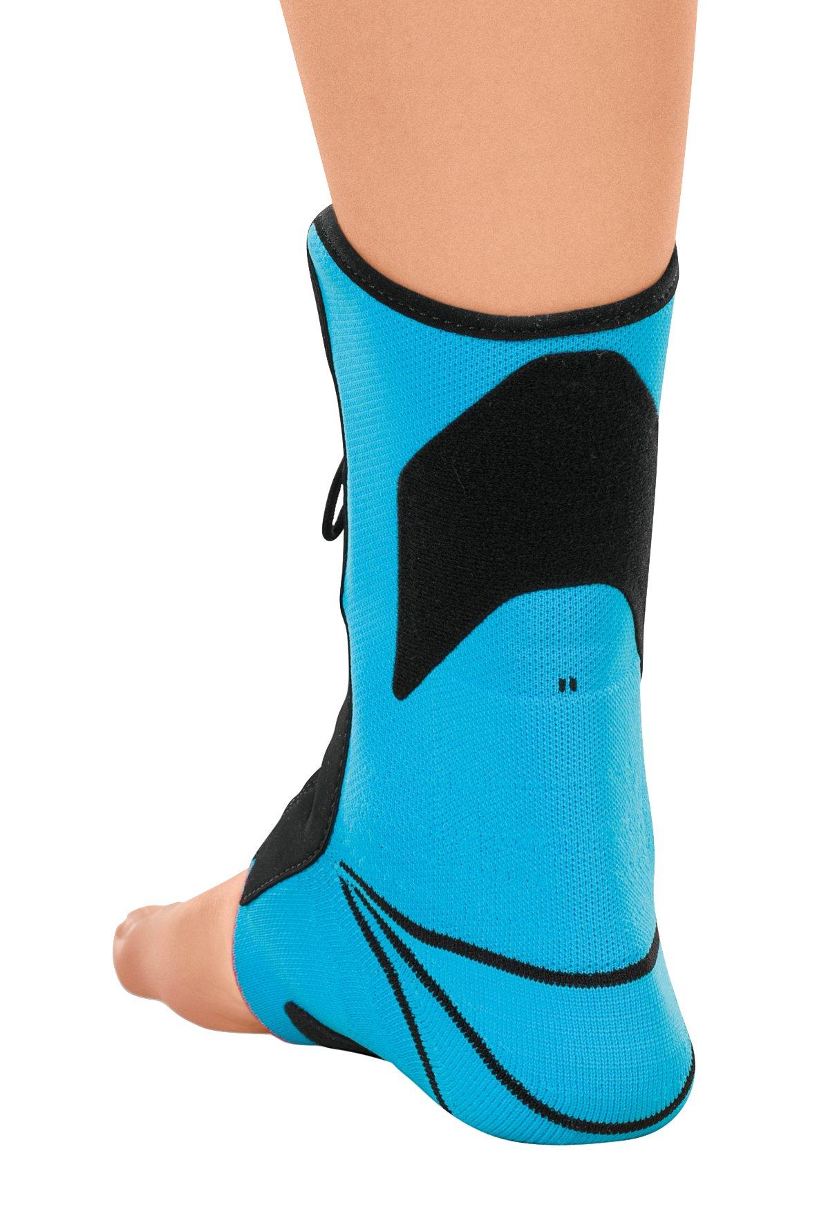 Medi Levamed Stabili-Tri Knit Ankle Support (Blue) Left Size I by Medi (Image #2)