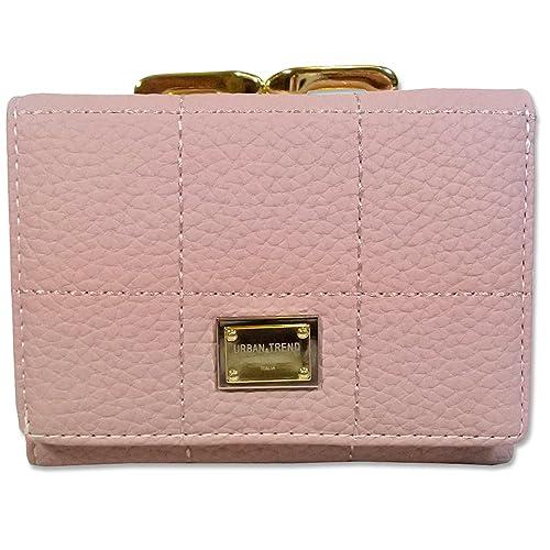 timeless design 654e1 03235 Amazon | 財布 レディース 二つ折り コンパクト財布 ミニ財布 ...