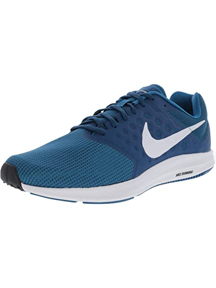 5811b6ba7682 Nike Men s Navy Blue White Downshifter 7 Running Shoes 852459-301  Buy  Online at Low Prices in India - Amazon.in