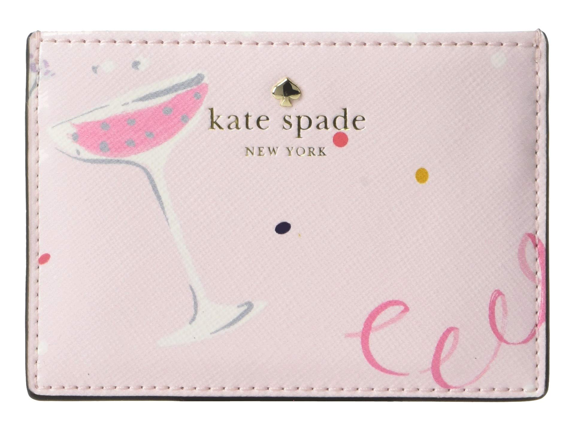 Kate Spade New York Women's Dashing Beauty Card Case, Multi, One Size by Kate Spade New York
