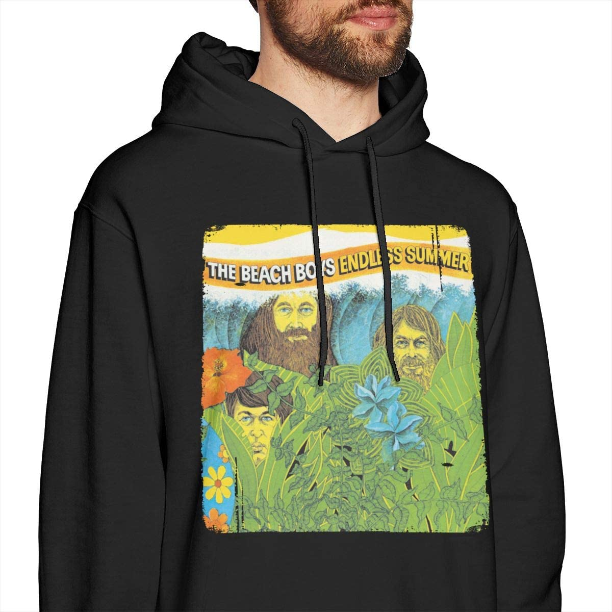 The Beach Boys Endless Summer Men Classic Comfortable Sweater Black