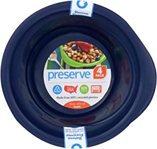 product image for Preserve 16 Ounce Everyday Bowls - Midnight Blue, Case Of 8 - 4 Packs