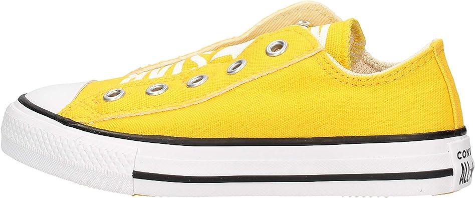 converse giallo bambino
