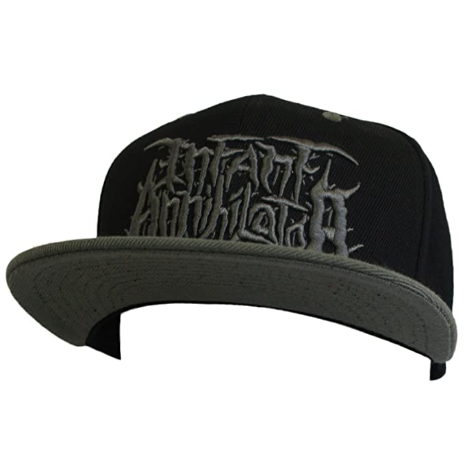 Infant Annihilator Men s Grey Embroidered Snapback Hat  Amazon.ca  Clothing    Accessories 324427c8173a