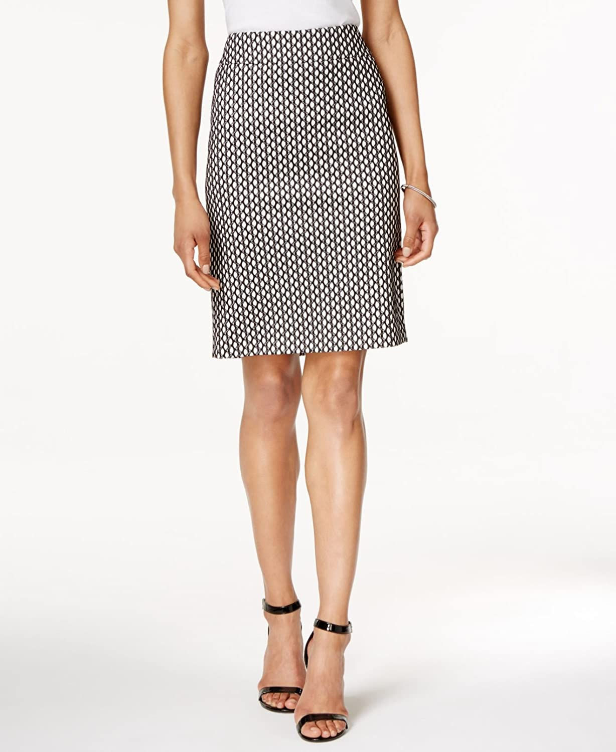 Nine West Womens Bonded Lace Straight Skirt Nine West Women/'s Suits 10615722-0DC