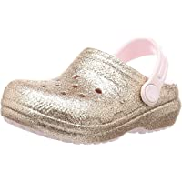 Crocs Kids' Classic Lined Clog | Warm and Fuzzy Slippers for Kids