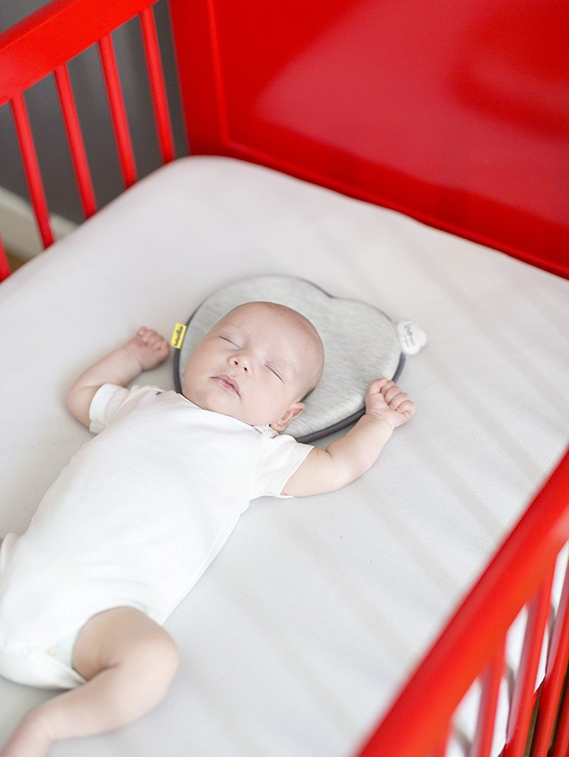 Babymoov Lovenest | Patented Pillow for Baby and Infant Head Support & Flat Head Syndrome Prevention (Pick Your Color) by Babymoov (Image #4)