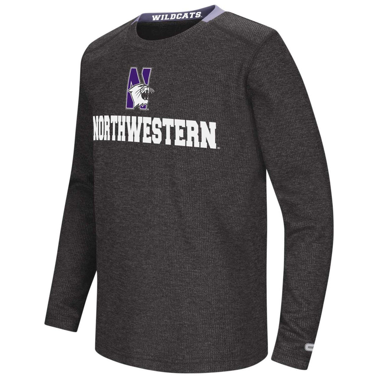 Northwestern Wildcats Youth NCAA Steff Long Sleeve T-Shirt Team Color,