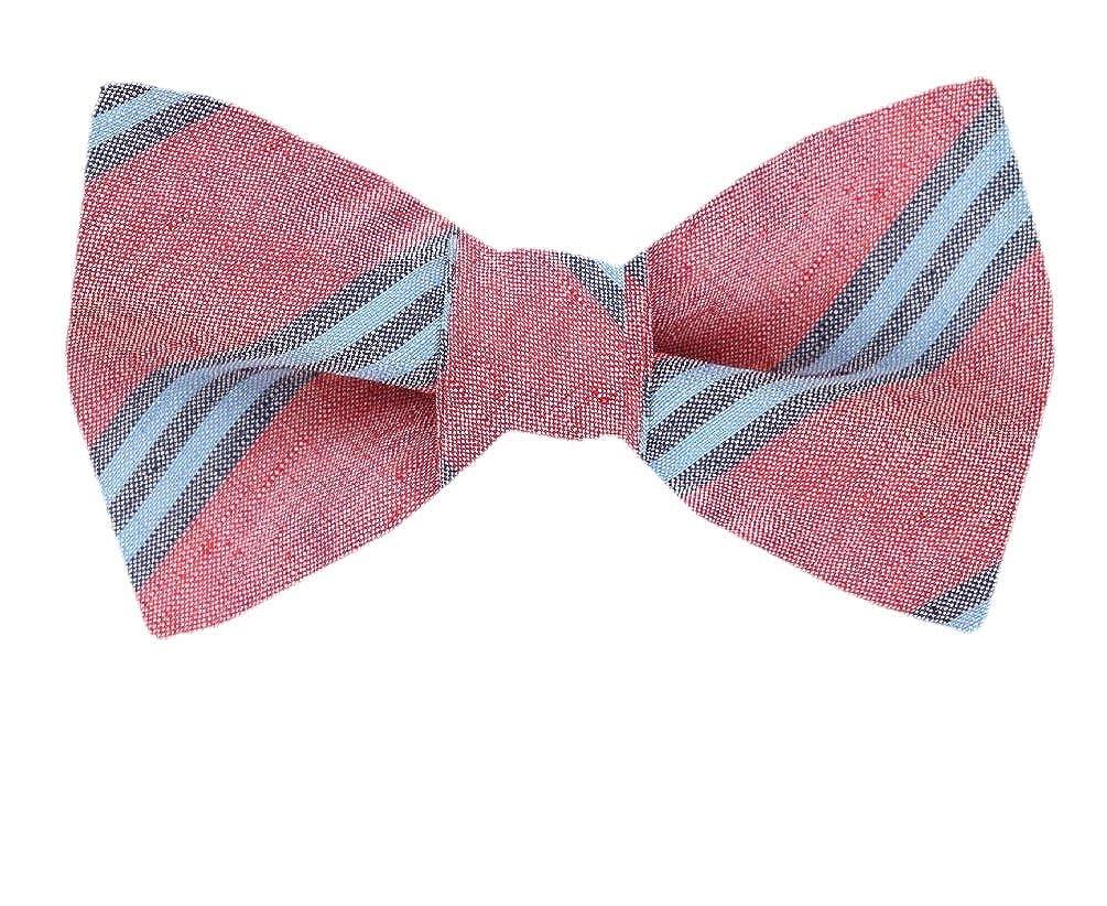 FBTZ-1254 Mens Silk Self Tie Bowtie Tie Yourself Bow Ties