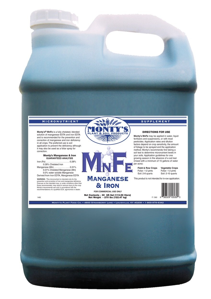 Monty's MNFE Manganese & Iron Micronutrient & Supplement 2.5 Gallon