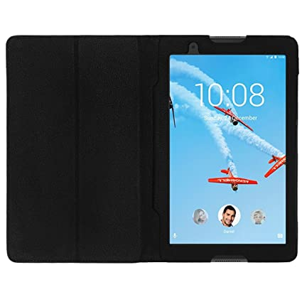 superior quality fea53 51a49 Colorcase Tablet Flip Cover Case for Lenovo Tab 4 8'' Tablet -{Black}