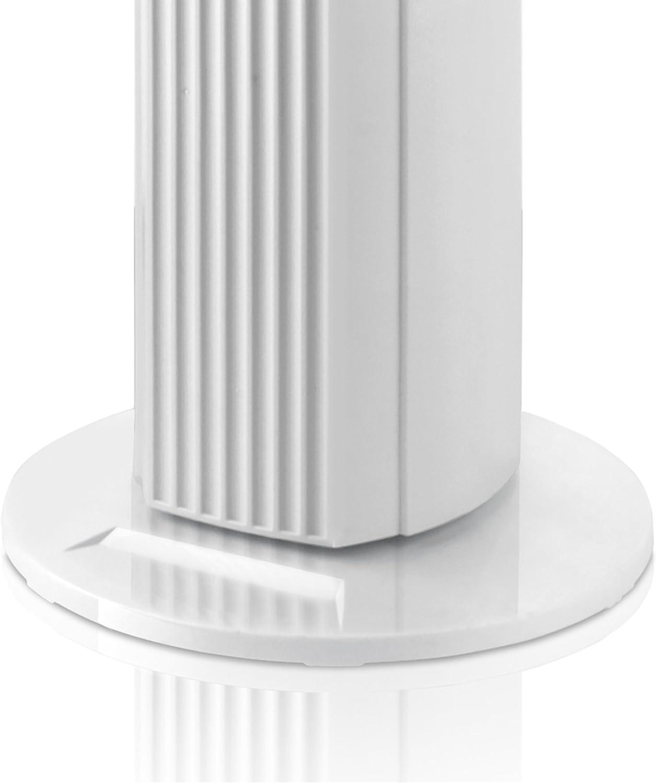 Taurus FT-2500/ 35 W bianco /Ventilatore a torre bianco senza telecomando