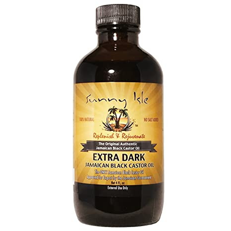 SUNNY isla Jamaica negro Castor Oil Extra oscuro 4 oz
