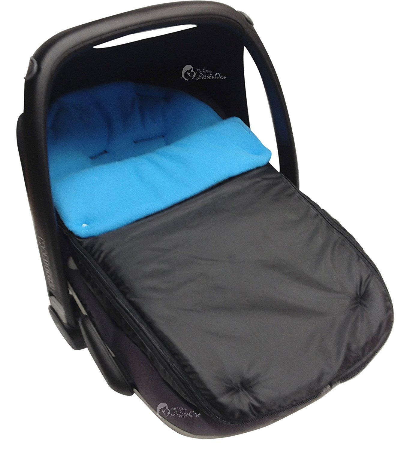 Car Seat Footmuff/Cosy Toes Compatible with Maxi COSI Cabrio Turquoise For-Your-Little-One