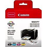 Canon 9218B005 Inkjet Cartridge - Black/Yellow/Magenta/Cyan (Pack of 4)