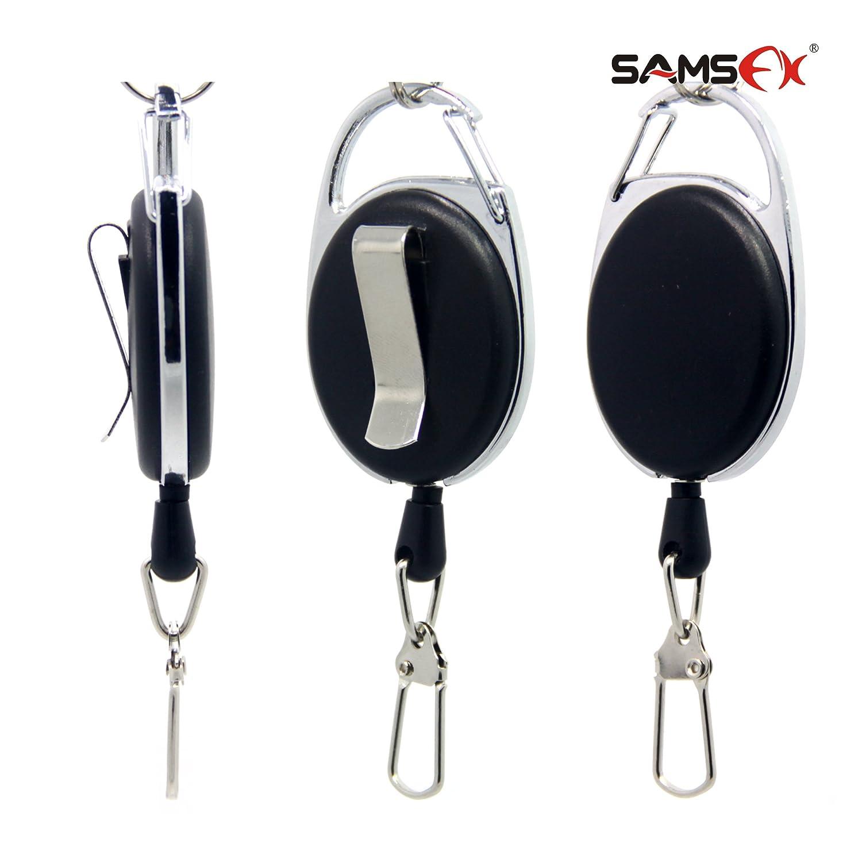 SAMSFX Fly Fishing Zinger Retractor for Gear Tools Holder