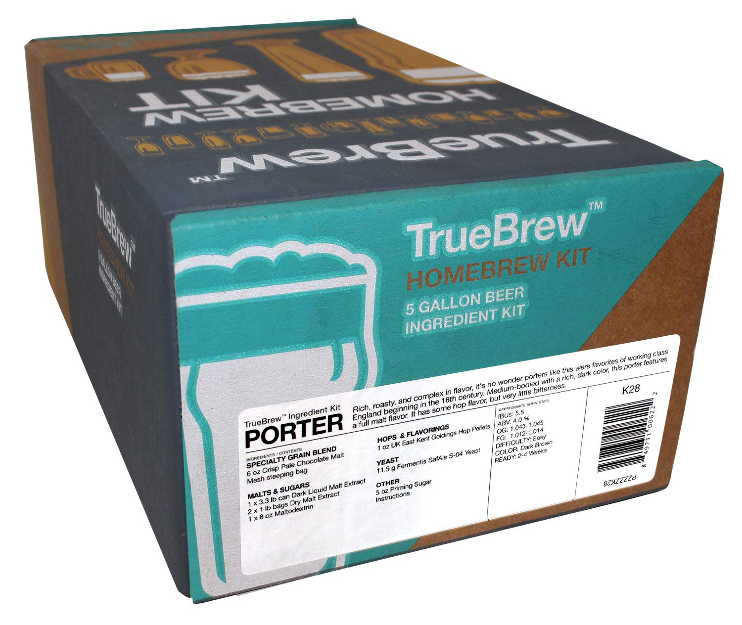 Amazon.com: True Brew 5384868035 Kit de ingredientes para ...