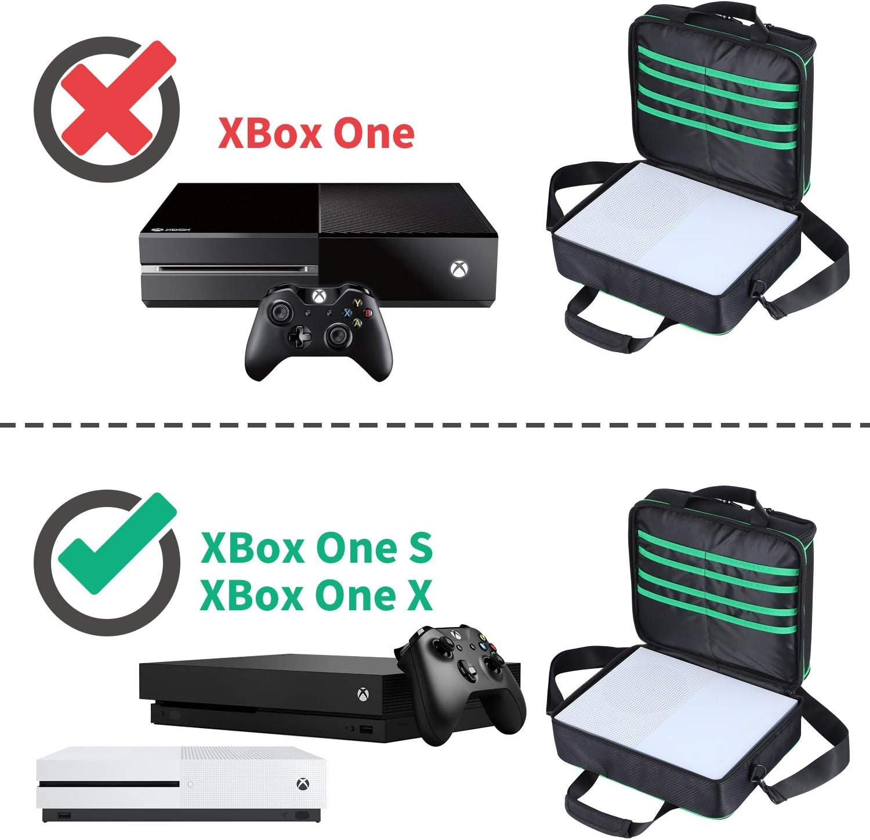 D DACCKIT - Funda de viaje compatible con consola Xbox One X/Xbox ...