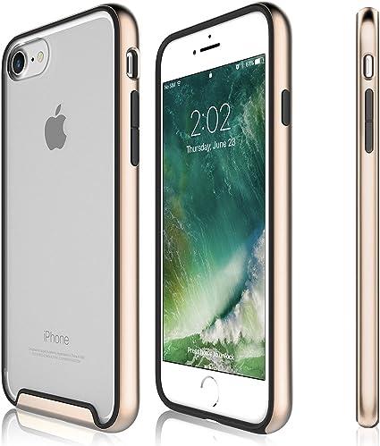 Funda iPhone 8, iPhone 7 - KHOMO Carcasa Transparente Triple ...