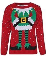 Fast Fashion pullover donna a maglia con temi natalizi