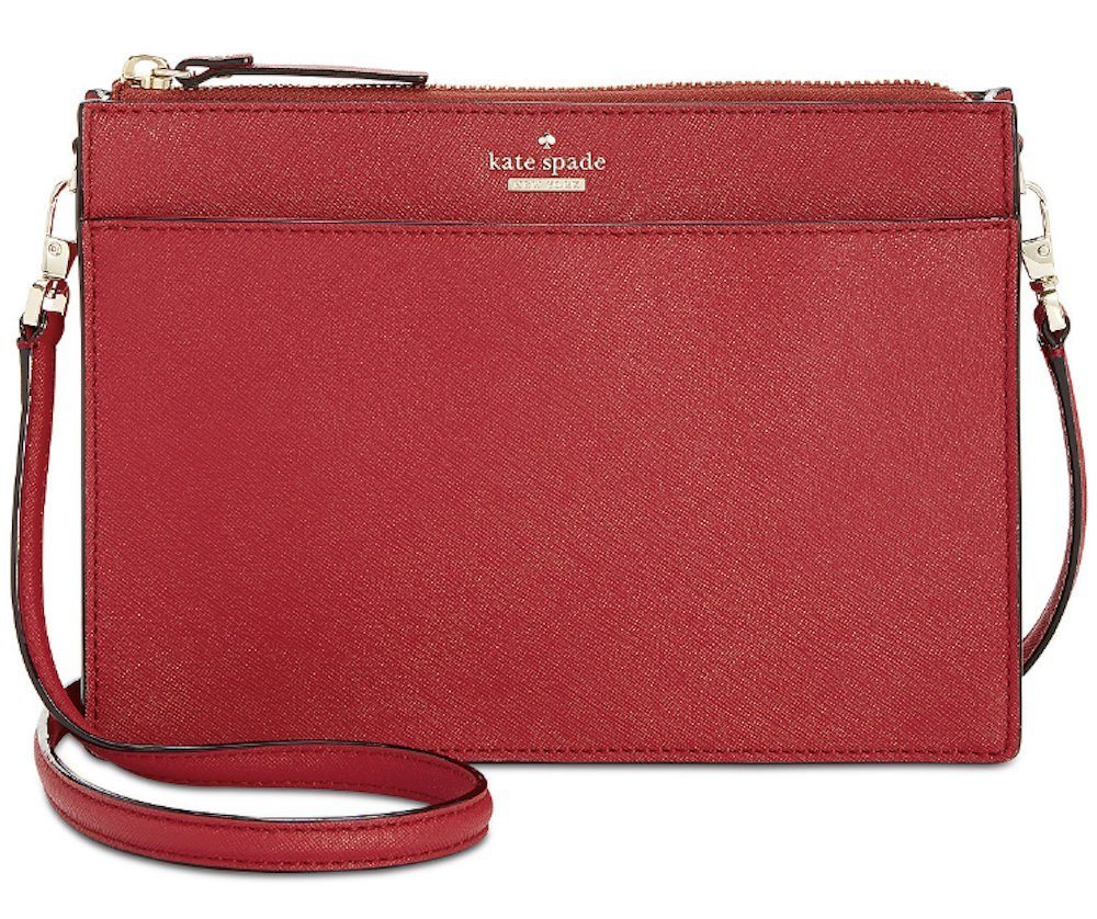 kate spade new york Cameron Street Clarise Crossbody Rosso Red by Kate Spade New York