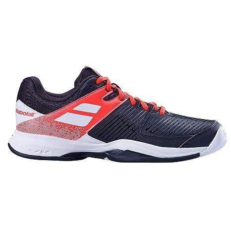 Babolat Hombres Pulsion Allcourt Zapatillas De Tenis Zapatilla Todas Las Superficies Negro - Naranja 46,
