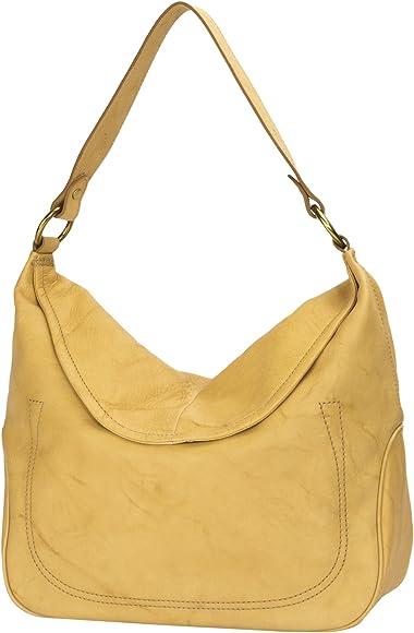 f533fa2dd Amazon.com: FRYE Campus Large Rivet Hobo Leather Shoulder Bag ...