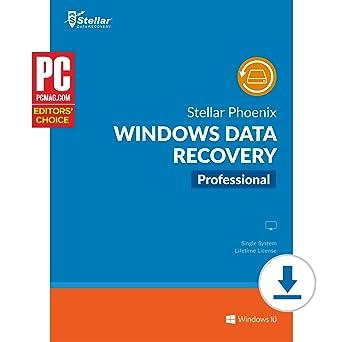 amazon com stellar phoenix windows data recovery professional
