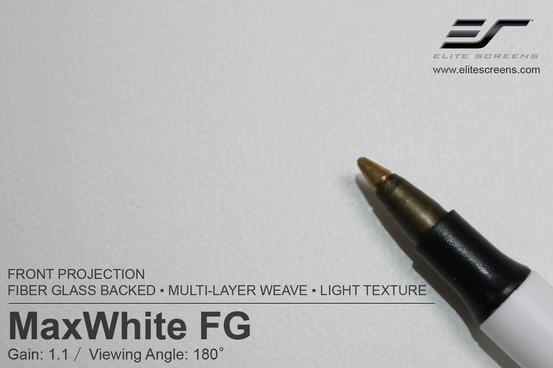 Elite Screens MaxWhite FG, Fiberglass Backed Projection Screen Material Sample (MAXWHITE FG-SM)