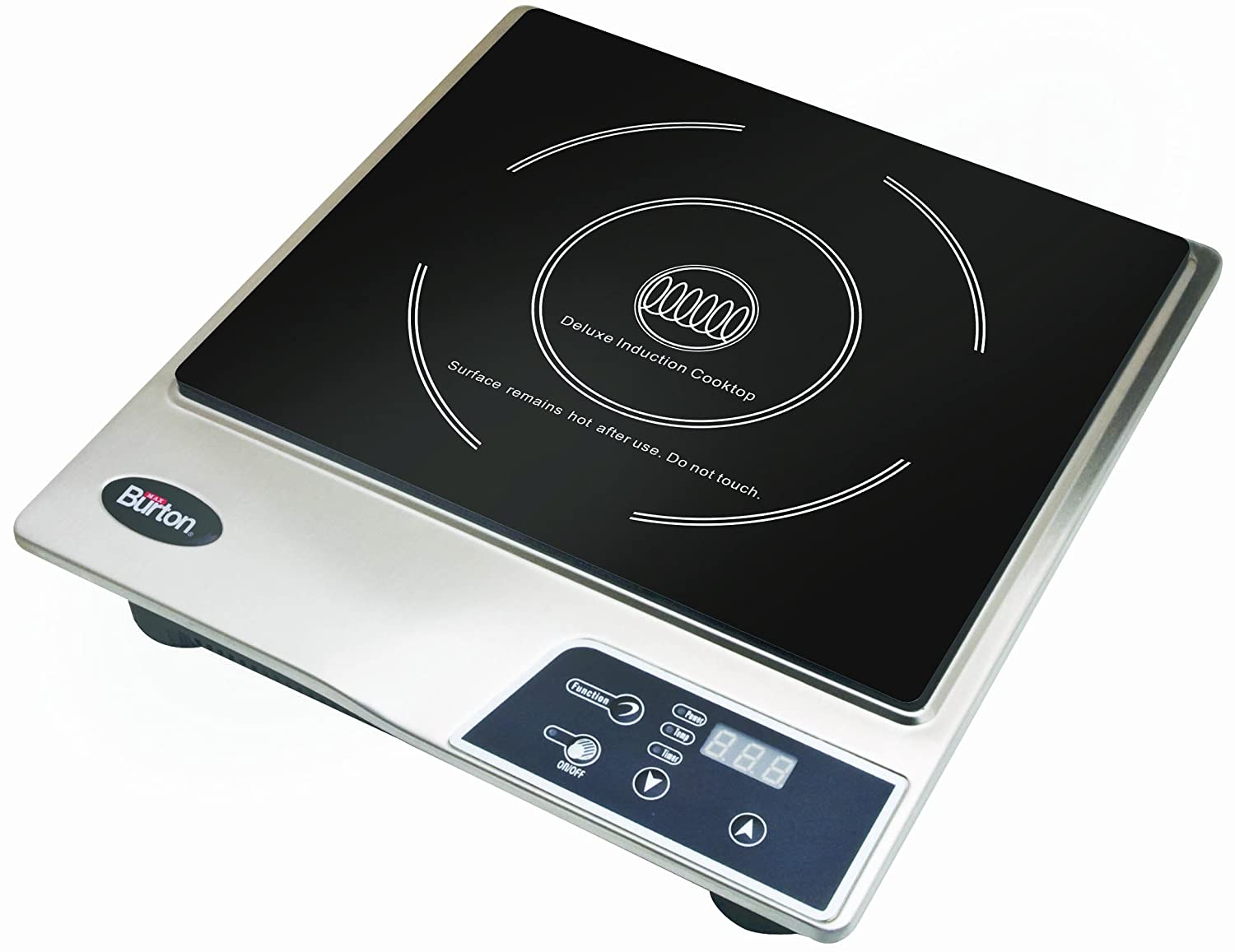Max Burton 6200 Maxi Matic Deluxe 1800 Watt Induction Cooktop, Black by Max Burton