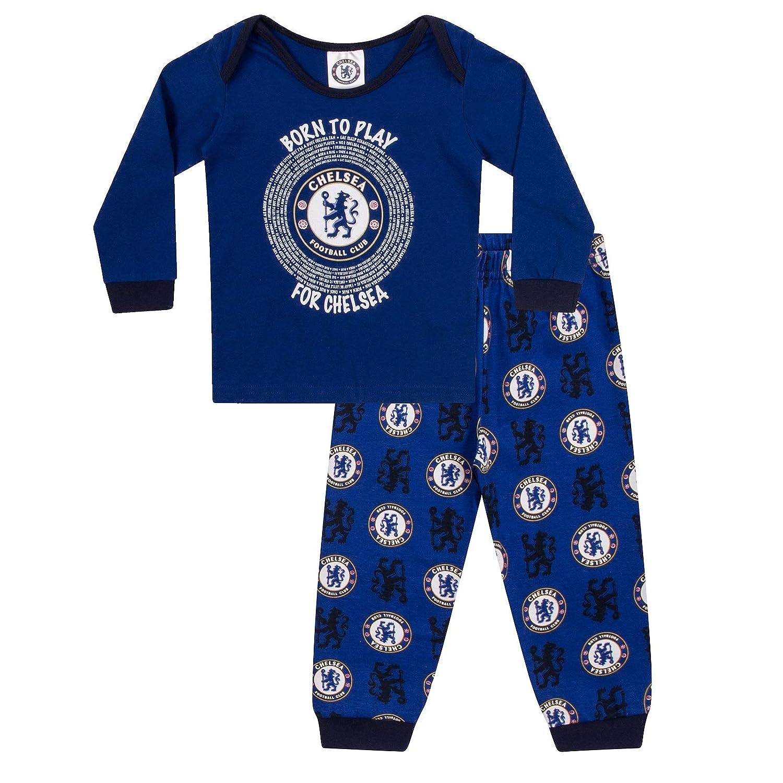 Chelsea FC Official Football Gift Boys Kids Baby Pyjamas