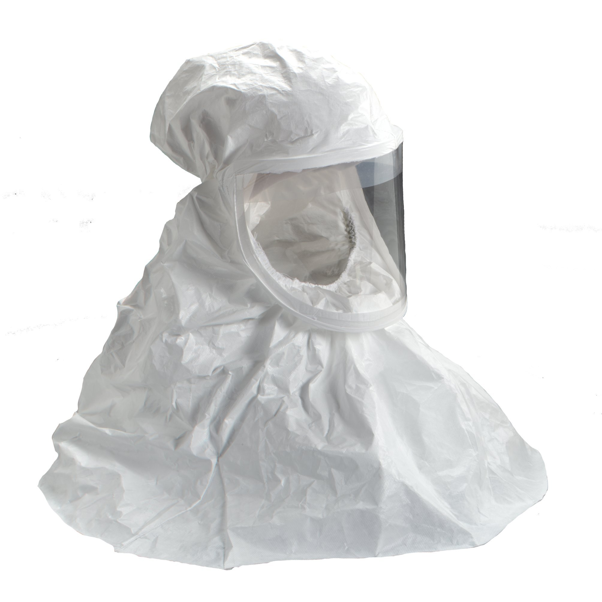 3M White Respirator Hood, Respiratory Protection BE-10-20, Regular (Case of 20)
