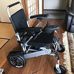 Amazon ポルタス フリーダム 電動車椅子 リチウムイオン電池 走行km 車椅子 電動車椅子 折り畳み 軽量 コンパクト 電動カート 電動 シニア カート 充電 バッテリー 介護 介助用 自走 自走式 歩行補助 電動車いす 電動車椅子 色レッド Portus 電動車いす