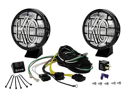 amazon com kc hilites 452 apollo pro 5 55w fog light system rh amazon com kc hilites apollo pro wiring diagram