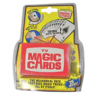 Nowstalgic Toys TV Magic Cards: Toys & Games