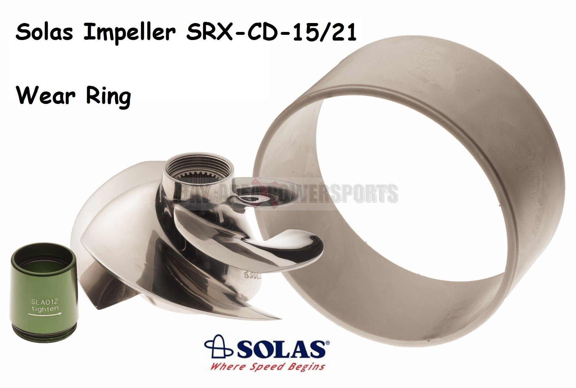 Solas Sea Doo Impeller & Wear Ring SRX-CD-15/21 RXPX RXTX 255 / RXP RXT GTX 215