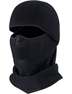 b001fa218e9 ChinFun Balaclave Fleece Windproof Ski Face Mask Tactical Hood Motorcycle  Neck Warmer Thermal Retention Outdoor