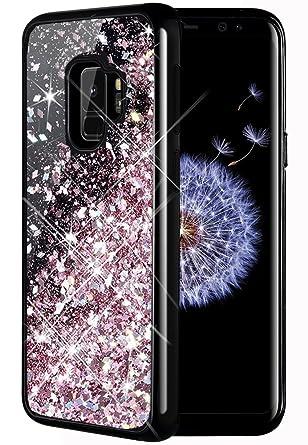 Amazon.com: Funda para Galaxy S9, Caka Galaxy S9 Glitter ...