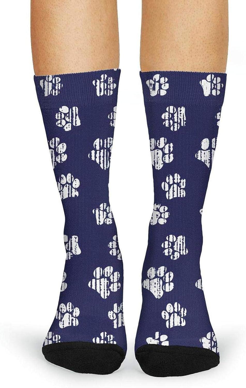 Woman Socks Cat PAWS Crazy Warmer High Cut Boot Socks