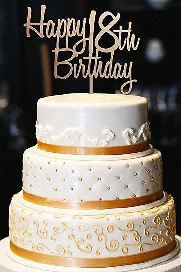 Amazon Custom Happy Birthday Cake Topper 18th