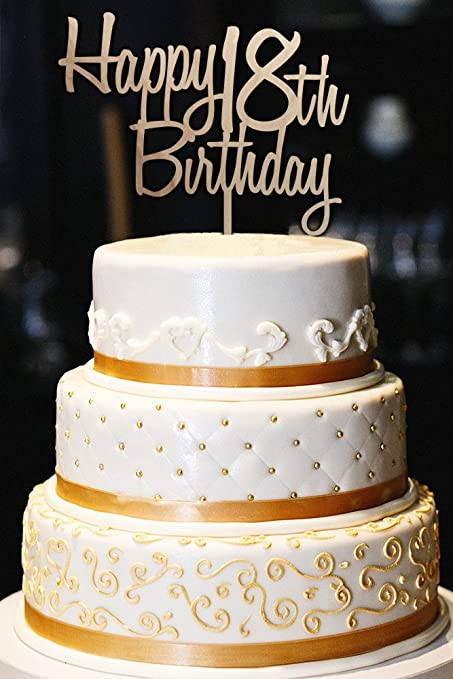 Image Unavailable Not Available For Color Custom Happy Birthday Cake
