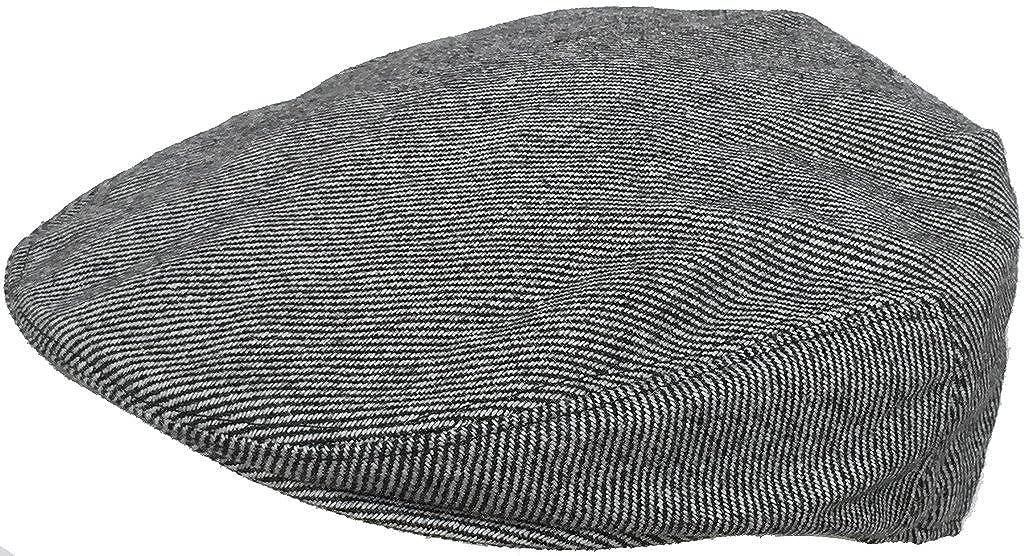 Headchange Wool Blend Tweed Winter Ivy Scally Cap Flat Driver Hat 5 Point Newsboy